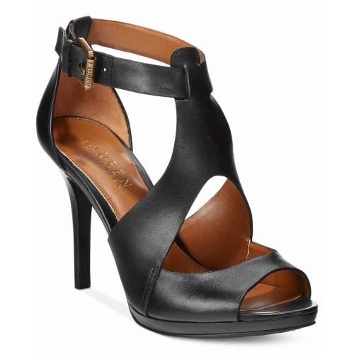 Giày Sandals Cao Gót Nữ Ralph Lauren Beth Xách Tay