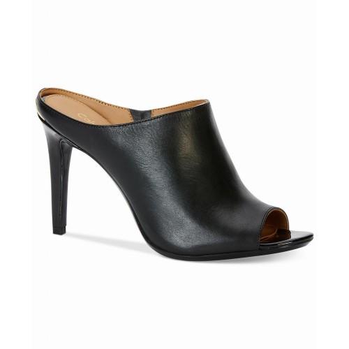 Giày Cao Gót Nữ Calvin Klein Nola Peep-Toe Chính Hãng