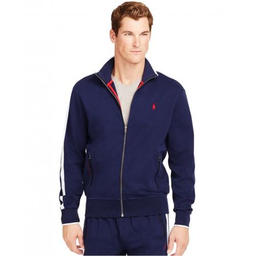 Áo Khoác Nam Polo Ralph Lauren Full-Zip Interlock Nhập Khẩu