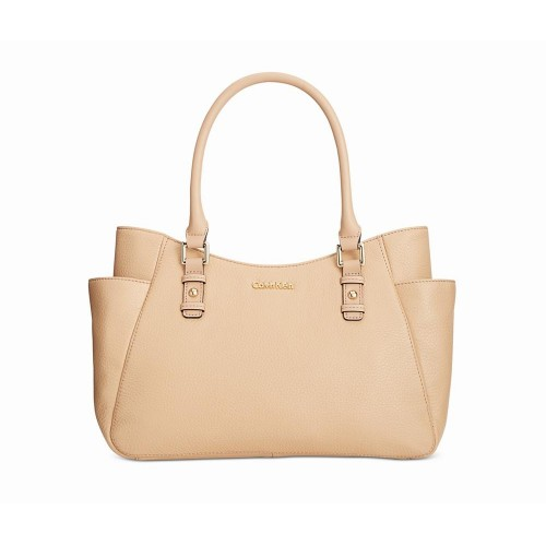 Túi Xách Tay Da Nữ Calvin Klein Classic Shopper Nhập Khẩu