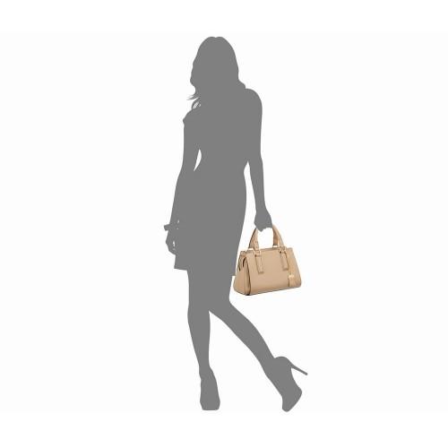 Túi Xách Tay Da Nữ Calvin Klein Premium Satchel Xách Tay