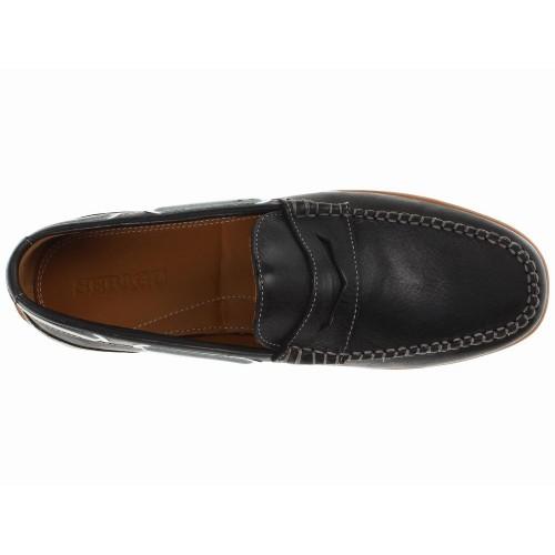 Giày Da Nam Sebago Nantucket Classic Đen Chính Hãng
