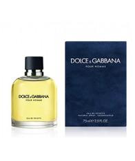 Nước Hoa Dolce & Gabbana Nam Toilette Spray 75ml Xách Tay