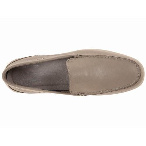 Giày Lười Xám Da Nam Rockport Bennett Lane Xách Tay