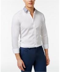 Áo Sơ Mi Nam Hugo Boss Elisha Print-Collar Hàng Hiệu