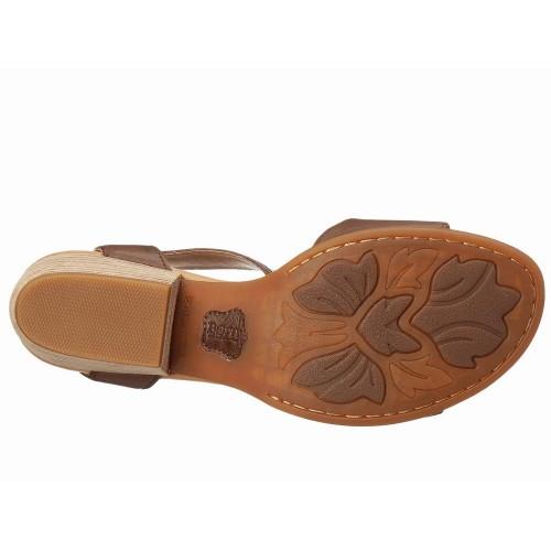 Giày Sandals Nữ Đế Vuông Born Beyer Cao Cấp