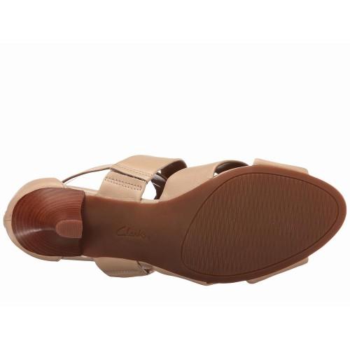 Giày Sandals Cao Gót Nữ Clarks Florine Hàng Hiệu