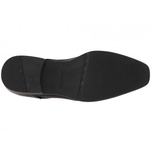 Giày Tây Da Đen Nam Calvin Klein Brodie Hàng Hiệu