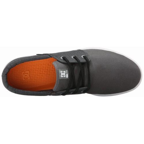 Giày Thể Thao DC Nam Haven Vải Xám Cao Cấp