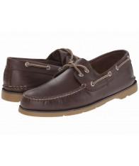 Giày Thuyền Nam Sperry Top-Sider Leeward Da Nâu Cao Cấp