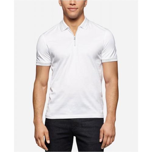 Áo Polo Nam Calvin Klein Slim-Fit Tay Ngắn Hàng Hiệu
