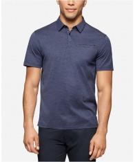 Áo Phông Polo Nam Calvin Klein Slim-Fit Chambray Chính Hãng