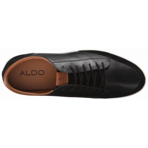 Giày Thể Thao Nam Aldo Somplago Da Đen Thời Trang
