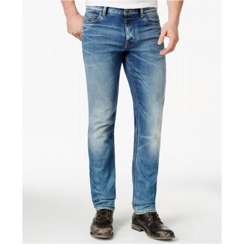 Quần Jean Nam Calvin Klein Straight-Fit Xanh Hàng Hiệu