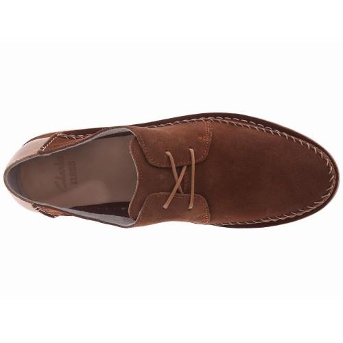 Giày Da Lộn Nam Clarks Brinton Xách Tay