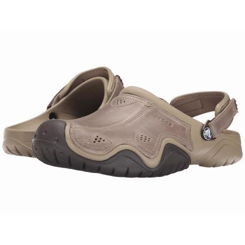 Giày Sandal Da Nam Crocs Swiftwater Hàng Hiệu