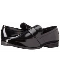 Giày Tây Lười Nam Da Đen Calvin Klein Carrigan Cao Cấp