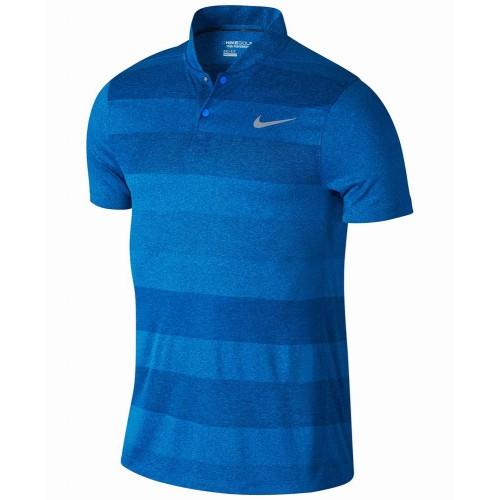 Áo Thun Polo Nam Nike Dri-Fit Jacquard-Print Golf Thể Thao Tay Ngắn