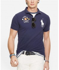 Áo Polo Nam Polo Ralph Lauren Custom-Fit Nautical Tay Ngắn