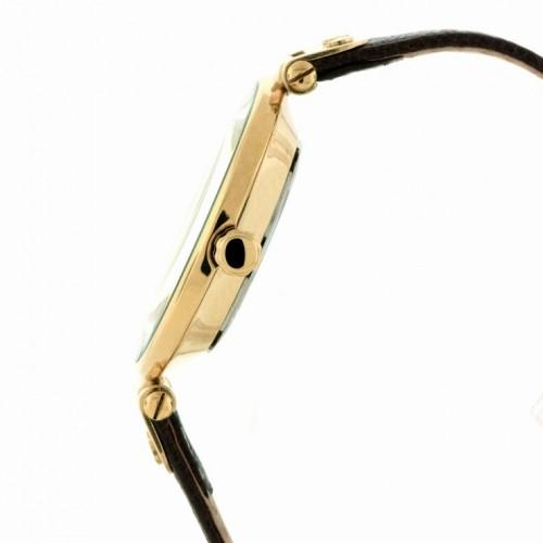 Đồng Hồ Nữ AK Anne Klein Màu Gold Dây Da Nâu