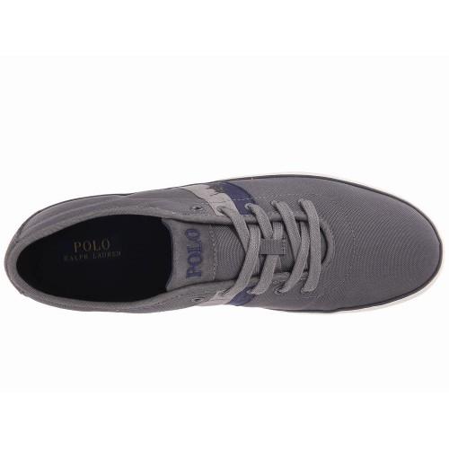 Giày Vải Polo Ralph Lauren Nam Halford Xám Thời Trang
