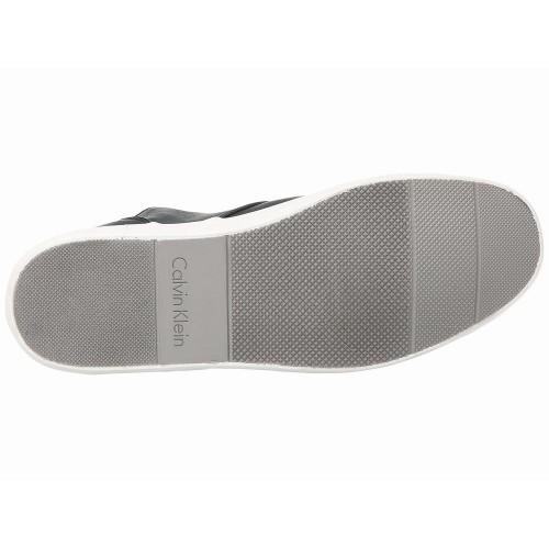Giày Nam Da Calvin Klein Parker Xanh Navy Xách Tay