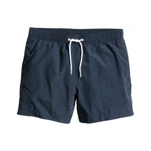 Quần Bơi Nam H&M Solid-color Xanh Navy Chính Hãng