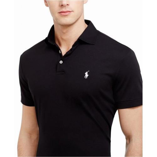 Áo Phông Nam Polo Ralph Lauren Pima Soft-Touch Đen