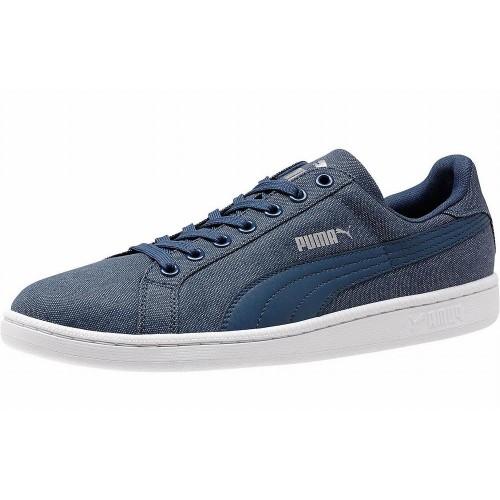 Giày Sneaker Nam Puma Smash Denim Xanh Cao Cấp