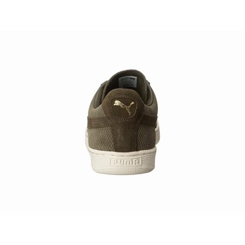 Giày Sneaker Nam PUMA Heritage Xanh Rêu Da Lộn