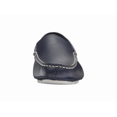 Giày Lười Nam Calvin Klein Miguel Diamond Xanh Navy Hàng Hiệu