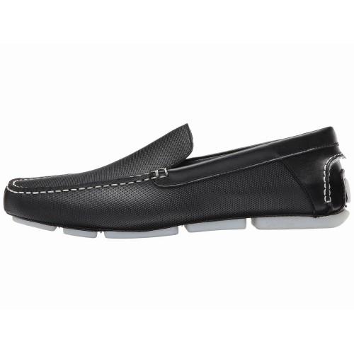 Giày Lười Nam Calvin Klein Miguel Diamond Da Đen Cao Cấp