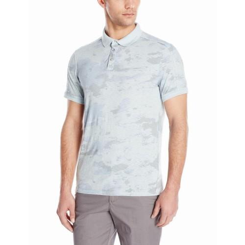 Áo Phông Polo Calvin Klein Jeans Nam Camo Xám Họa Tiết