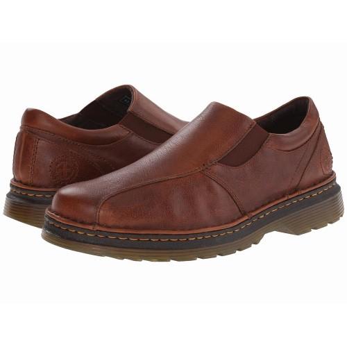 Giày Dr. Martens Tevin Nam Kiểu Slip-On Da Nâu Chính Hãng