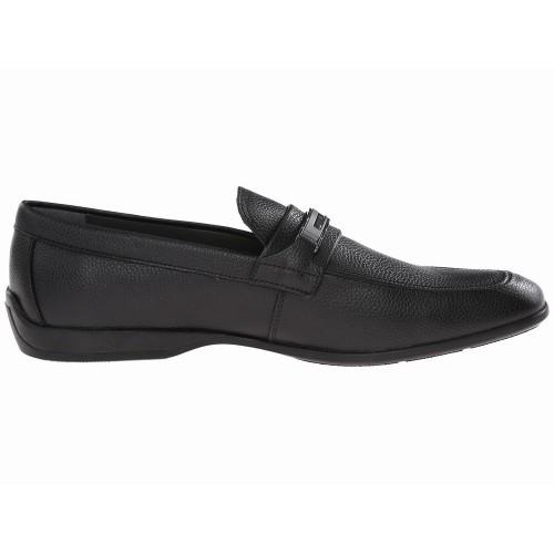 Giày Lười Nam Calvin Klein Vick Da Đen Công Sở