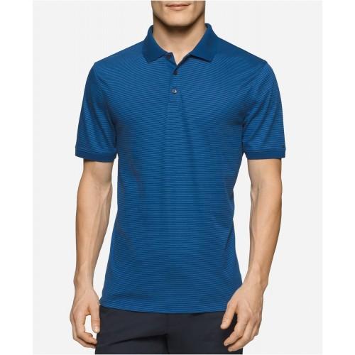 Áo Thun Calvin Klein Nam Liquid Cotton Polo Chính Hãng