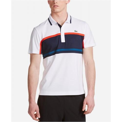 Áo Polo Lacoste Nam Colorblocked Striped Ultra Chính Hãng