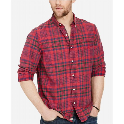 Áo Sơ Mi Denim & Supply Ralph Lauren Nam Plaid Oxford