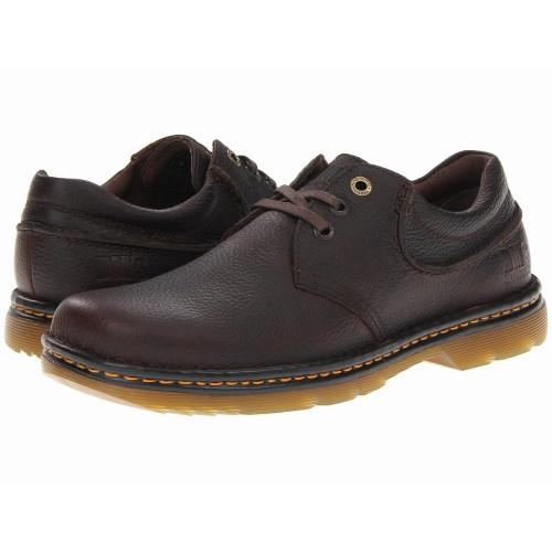 Giày Da Dr. Martens Hampshire Nâu Cột Dây Chính Hãng