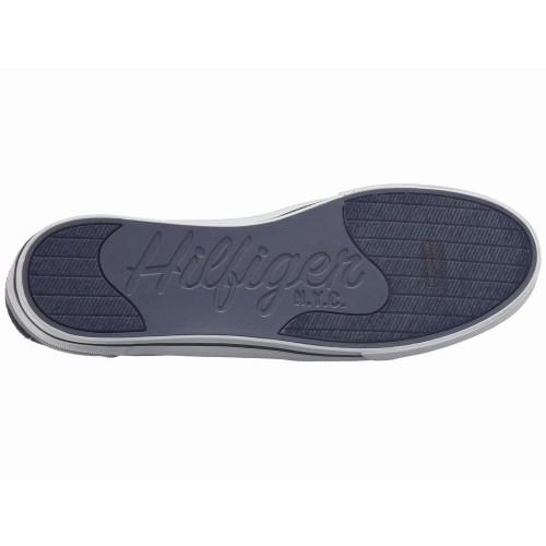 Giày Lười Thể Thao Tommy Hilfiger Peters Xám Chính Hãng