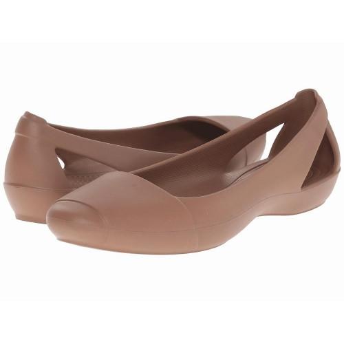 Giày Bệt Nữ Crocs Sienna Nhựa Cao Cấp