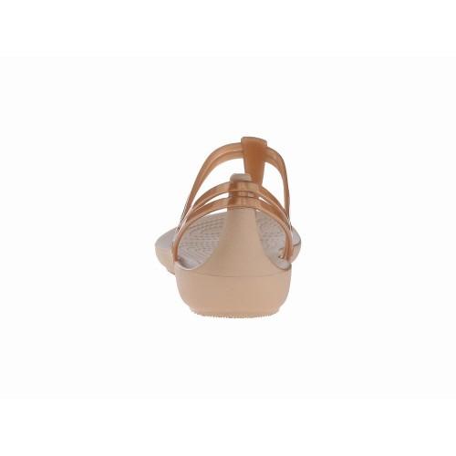 Giày Nữ Crocs Isabella T-Strap Nhựa Chính Hãng