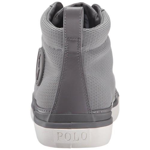 Giày Cao Cổ Nam Polo Ralph Lauren Clarke Xám Thời Trang