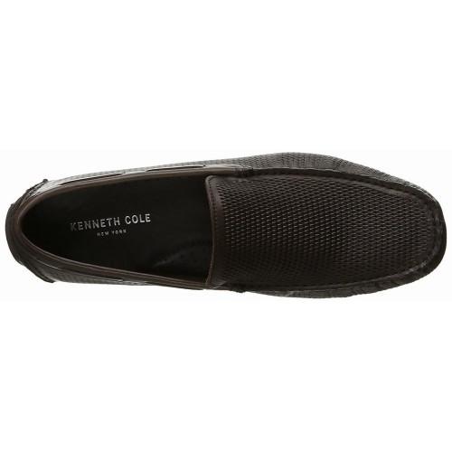 Giày Mọi Nam Kenneth Cole New York Slide-Show Da Nâu Chính Hãng