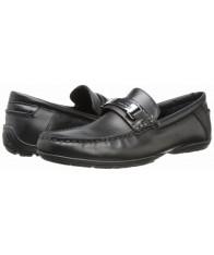 Giày Lười Da Calvin Klein Wallace Đen Hàng Hiệu