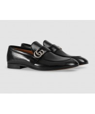 Giày Loafer Nam Gucci Leather GG Da Cao Cấp