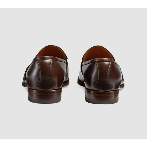 Giày Da Gucci Leather Nam Công Sở Chính Hãng