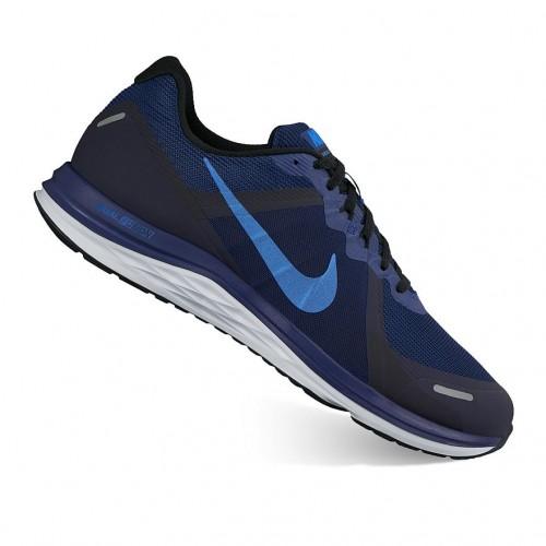 Giày Thể Thao Nam Nike Dual Fusion X 2 Xanh Đen Hàng Hiệu