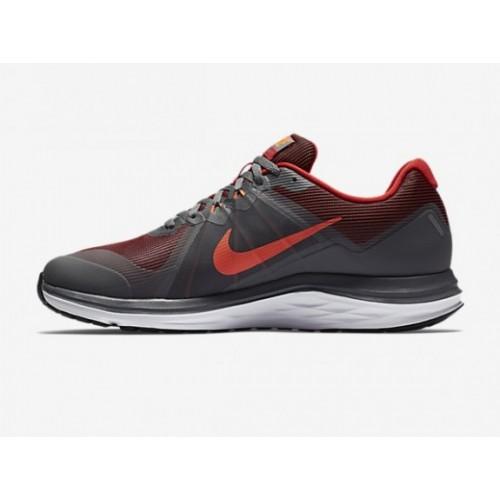 Giày Sneaker Nam Nike Dual Fusion X 2 Đỏ Xám Thể Thao