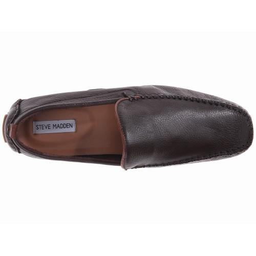 Giày Lười Steve Madden Vicius Da Nâu Hàng Hiệu
